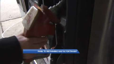 Gas tax proposed to pay for public transit
