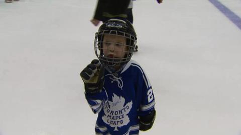 Toronto Maple Leafs raise awareness for juvenile diabetes