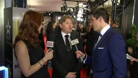 Dave Foley on the CSA red carpet