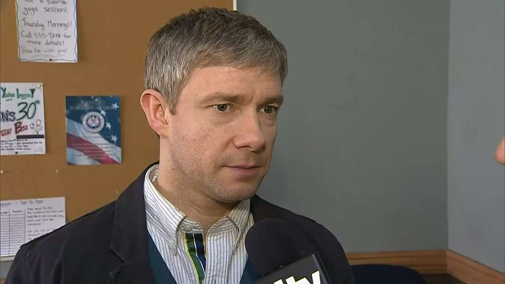 Clip - Martin Freeman discusses role in 'Fargo'