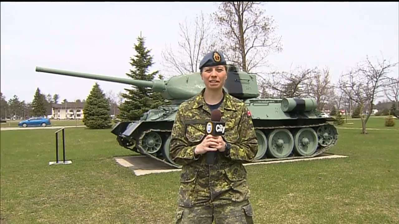 Happy Mother's Day from soldiers at CFB Borden
