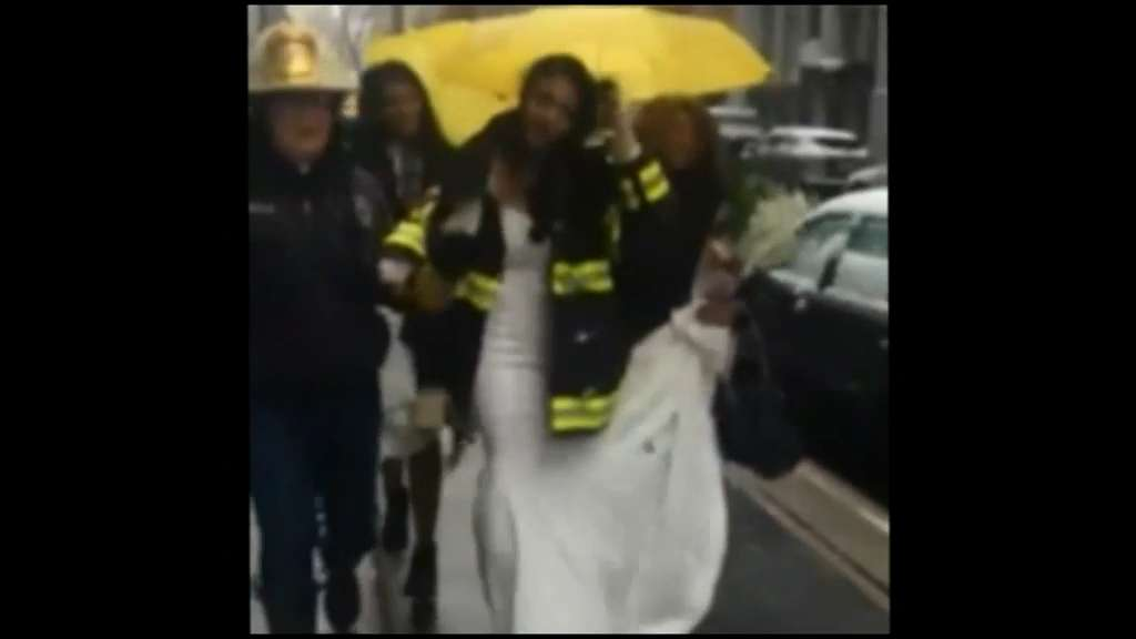 Toronto bride caught in chaos of New York crane collapse