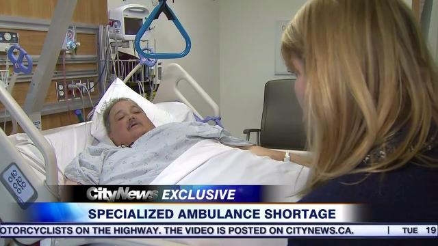 Specialized ambulance shortage leaves man waiting in street for over an hour with broken leg