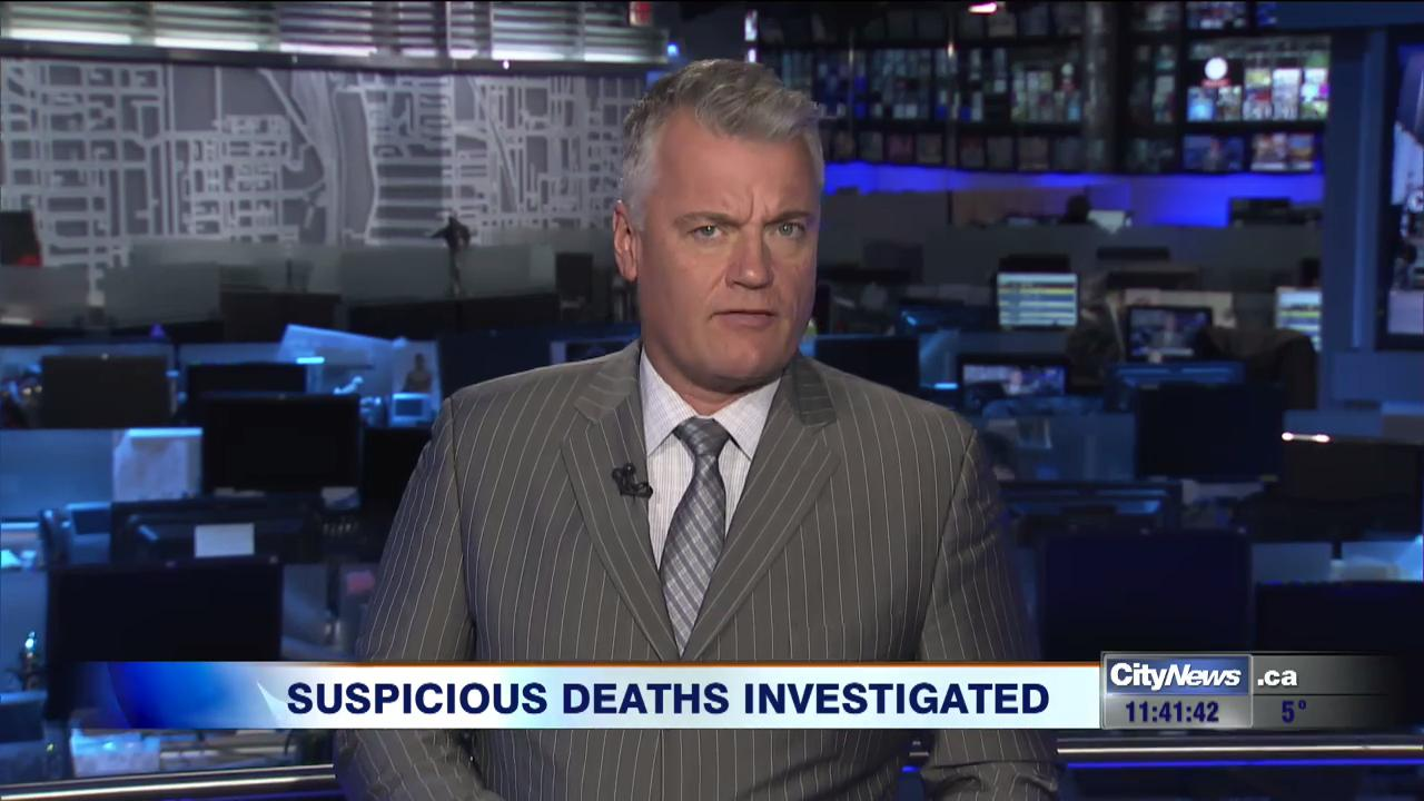 Police to reveal details about suspicious deaths in Southwestern Ontario