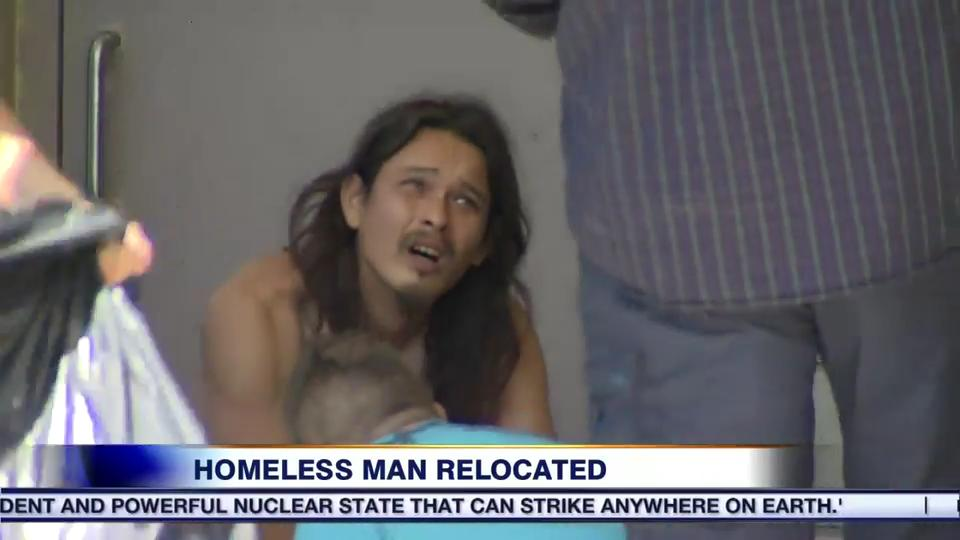 Video: Homeless man living on Oakville campsite after being forced from  Toronto park