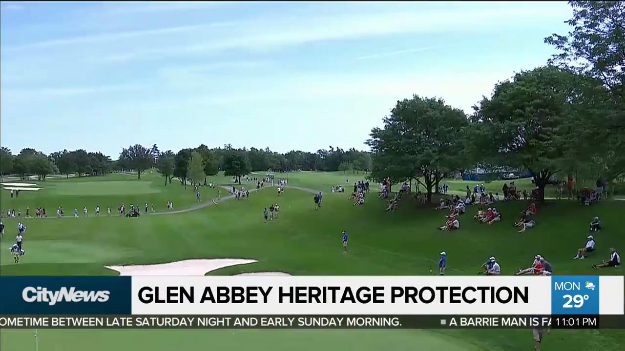 Video: Oakville council votes unanimously to designate Glen Abbey a  heritage site