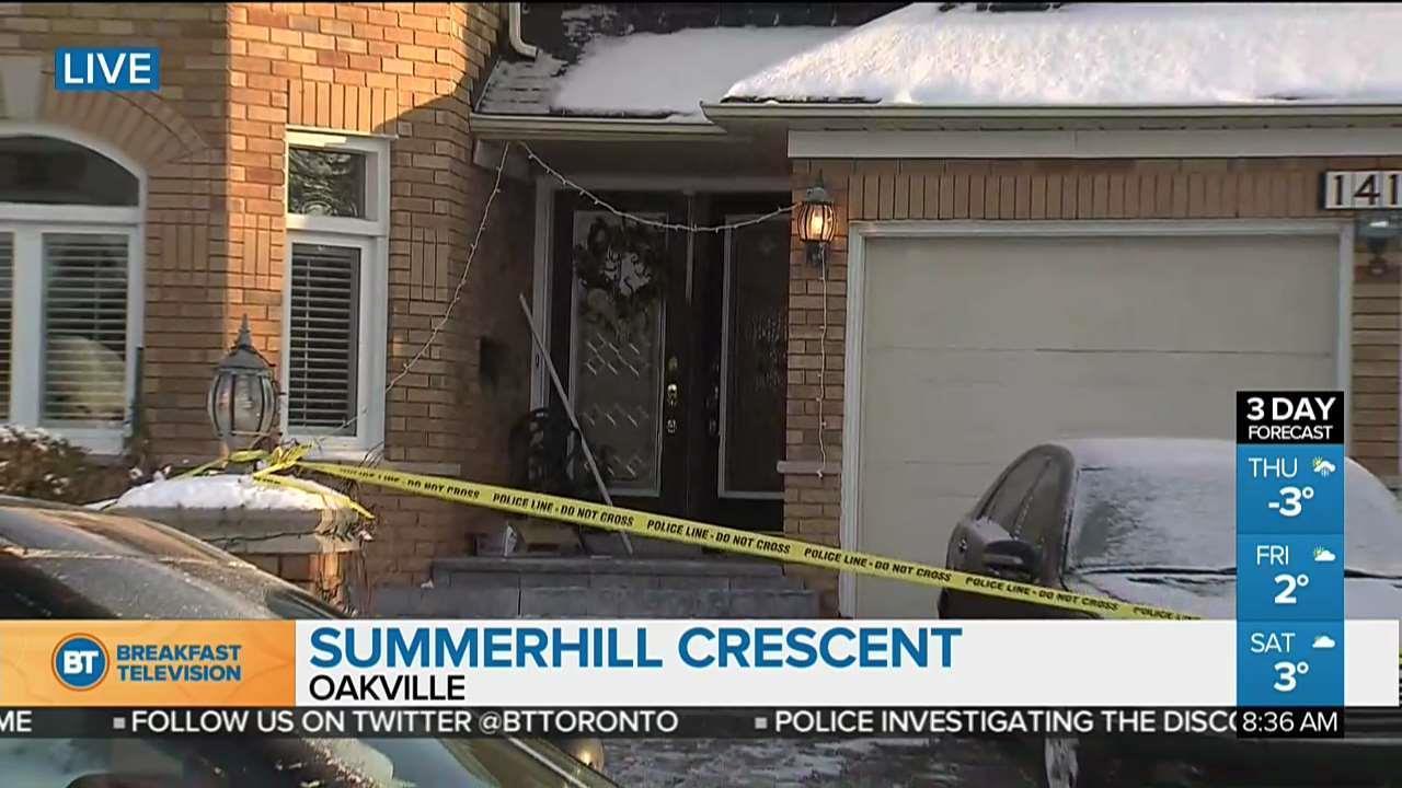 Two found dead inside Oakville home