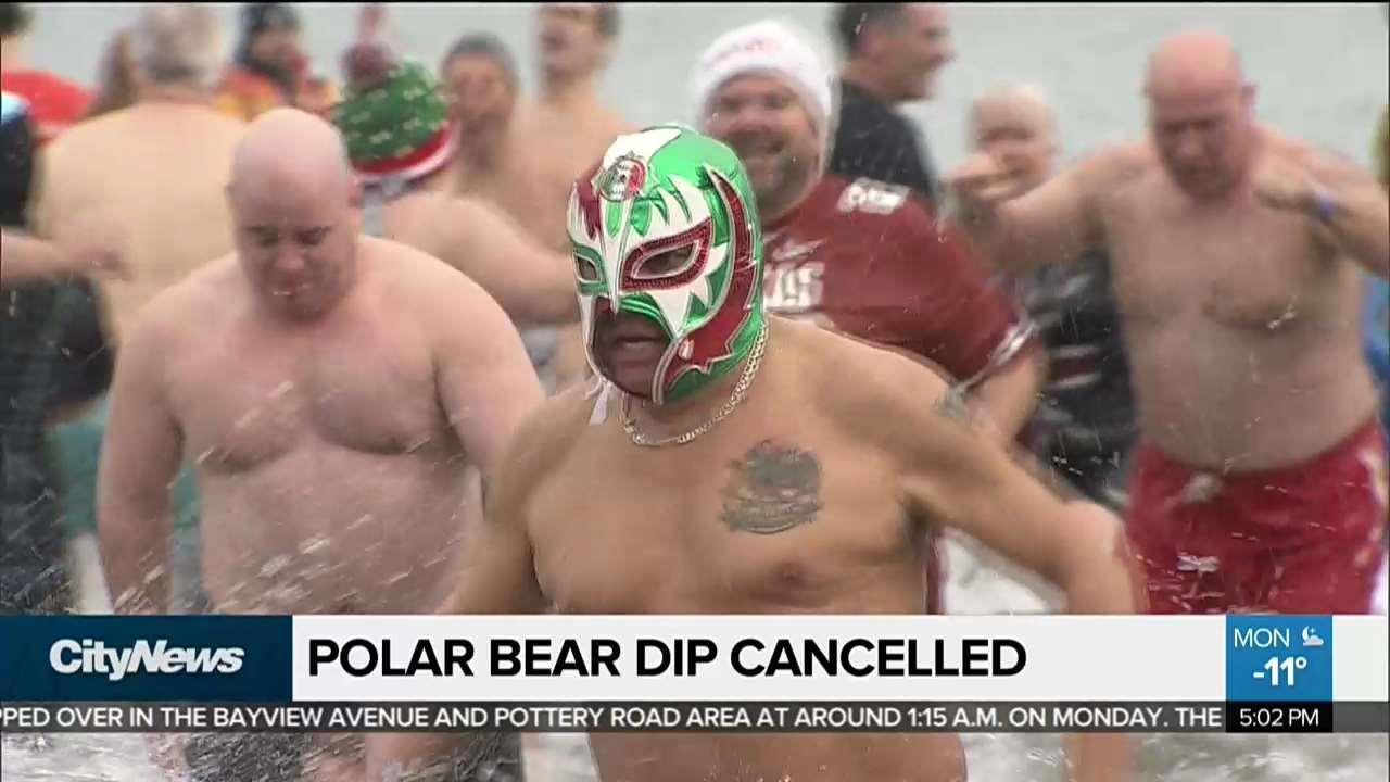 Toronto, Oakville Polar Bear Dips cancelled