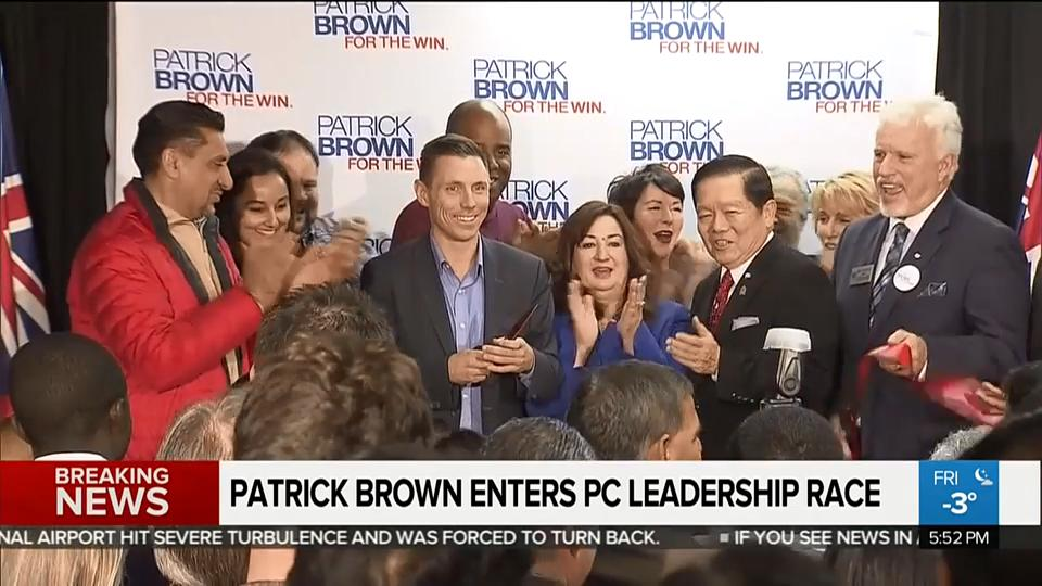 Can Patrick Brown clear his name?