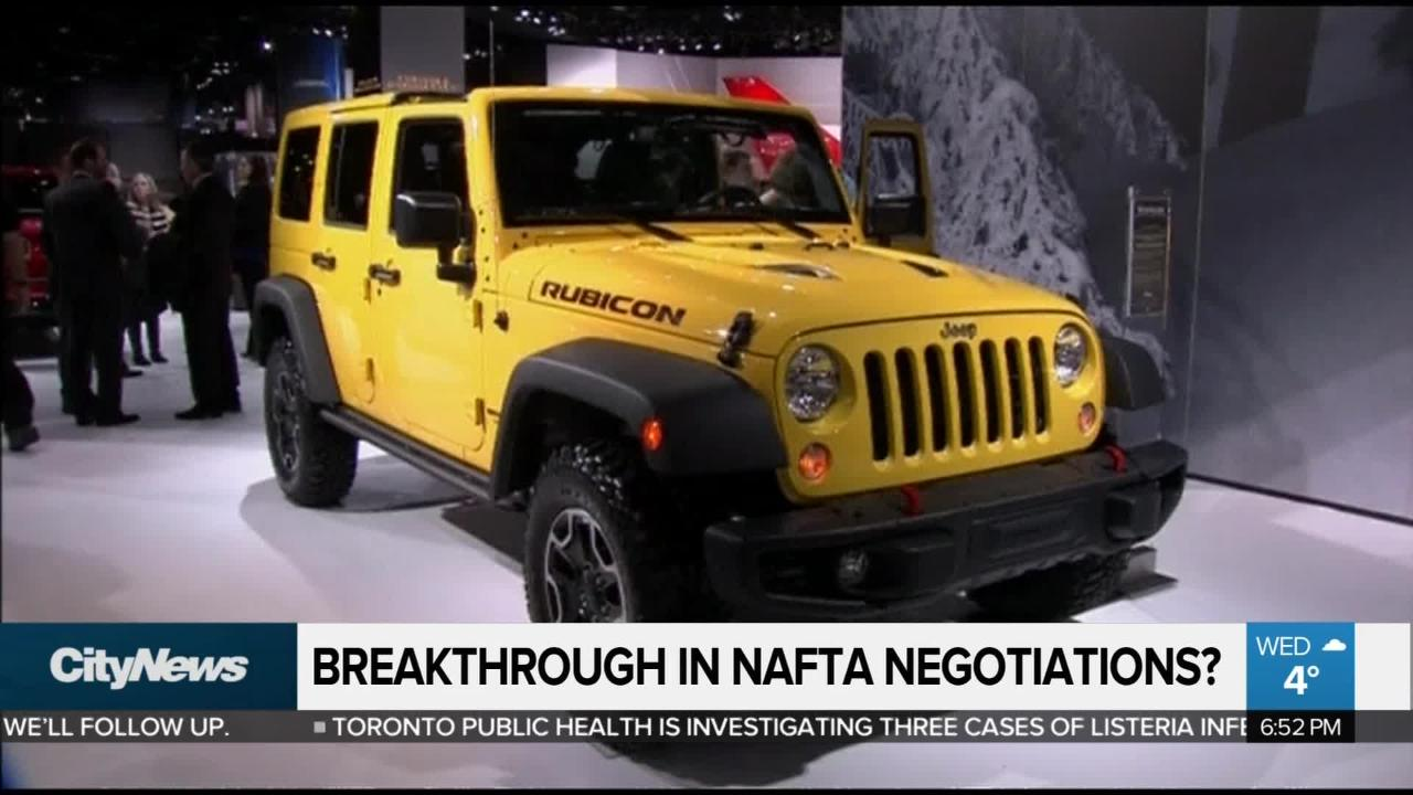 'Significant progress' made in NAFTA negotiations: Canadian ambassador