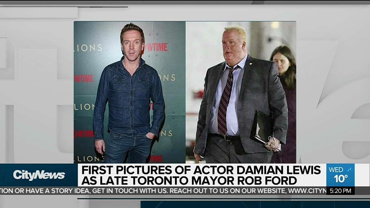 New pictures released of Damian Lewis as Rob Ford