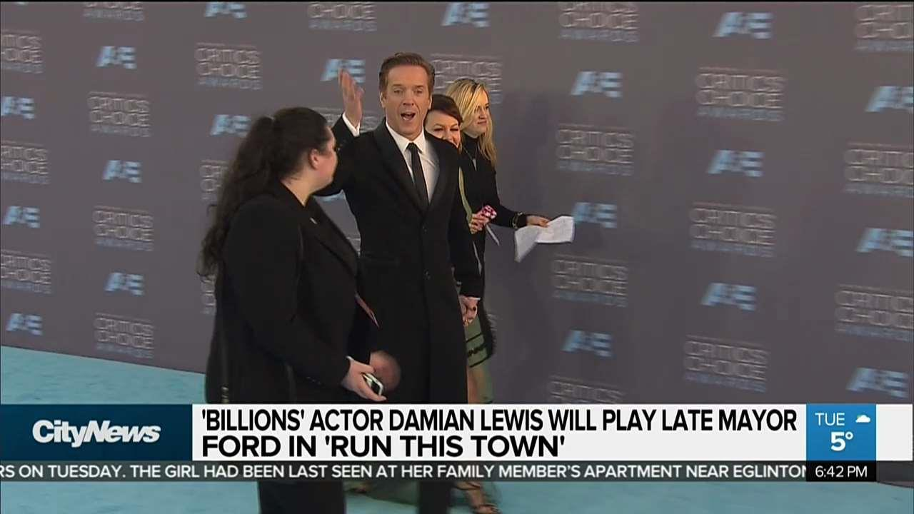 'Homeland' star Damian Lewis to play Rob Ford in 'Run This Town'