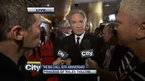 Raw video: Kevin Kline talks about 'The Big Chill 30th anniversary' at TIFF
