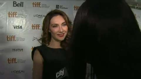 Raw video: Carice van Houten talks about 'The Fifth Estate' at TIFF