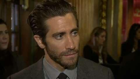 Raw video: Jake Gyllenhaal discusses 'Prisoners' at TIFF