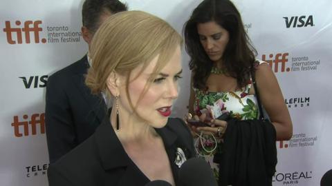Raw video: Nicole Kidman talks about 'The Railway Man' at TIFF